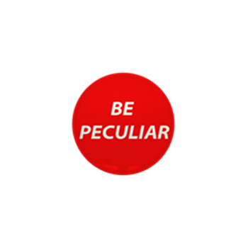 Dr. Paul Bearer Be Peculiar button small