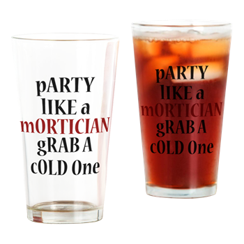 Dr. Paul Bearer Party Glass